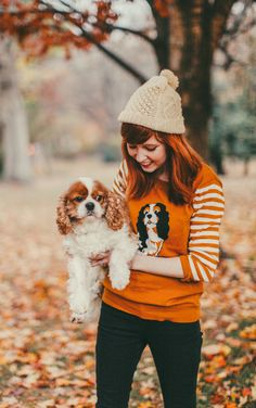 The Clothes Horse: King Charles Spaniel