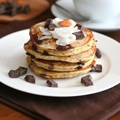 Almond Joy Pancakes (Gluten Free) - The Lemon Bowl