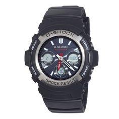 Casio Men's G-Shock Tough Solar Analog & Digital Atomic Watch - Black Casio G-shock, Casio Watch, Casio G Shock Solar, Casio G Shock Watches, Sport Watches, Watches For Men, Wrist Watches, Black Watches, Dream Watches