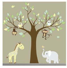 tree decals | Request a custom order and have something made just for you.