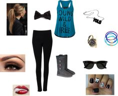 """""""Young.Wild & Free"""" by jessc21994 on Polyvore"""