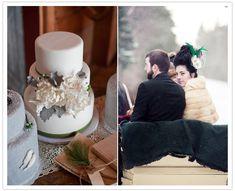 Coordination by www.kiss-the-bride.net... winter wedding decor inspiration