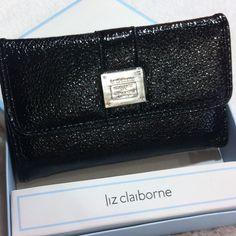 Marked Downliz Claiborne Wallet