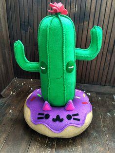 Cactus kussen Saguaro kussen in groen gratis verzending