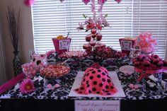 Baby shower dessert table, baby shower ideas