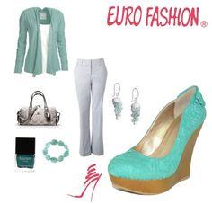 Formal pero cómodo #Outfit #Tacones #Fashion