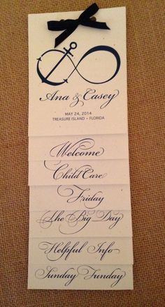 Wedding brochures, out of town guest bags, destination wedding, wedding,