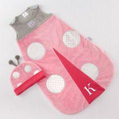 Personalized Ladybug Snuggle Sack by Beau-coup