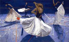 Robert Heindel ~ 'Big Skirt'