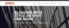 The latest and free personal WordPress blog themes released in 2016 for blogging website which more than enough for personal blogs