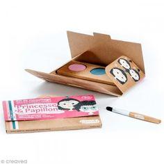Kit de maquillaje bio Princesa y mariposa  - 3 colores - Fotografía n°2