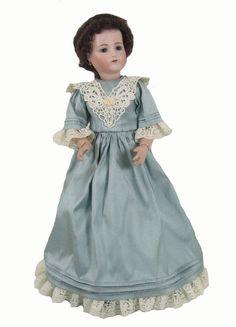 "12"" Silk Fashion Doll Dress-160 | Vee's Victorians Doll Clothes"