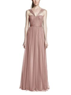 Take a look at this gorgeous Amsale Aisha bridesmaid dress in blush fabric! Available in sizes and tons of colors at Brideside. Shop online, try at home or visit one of our showrooms! Amsale Bridesmaid, Bridesmaid Dresses Online, Green Bridesmaid Dresses, Prom Dresses, Formal Dresses, Wedding Dresses, Bridesmaids, Fashion Dresses, Ethereal