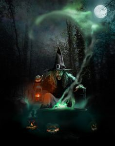 Classic spooky Halloween witch ~ All Hallows Eve by spoofdecator.devi… Classic spooky Halloween witch ~ All Hallows Eve by spoofdecator. Spooky Halloween, Halloween Tumblr, Photo Halloween, Halloween Vintage, Vintage Witch, Halloween Pictures, Spirit Halloween, Holidays Halloween, Halloween Themes