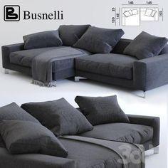 Диван угловой Busnelli