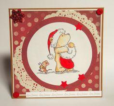 #Christmas #card www.stardustpaper.blogspot.it
