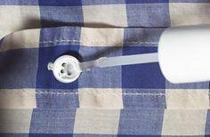 Como manter os seus botões intactos