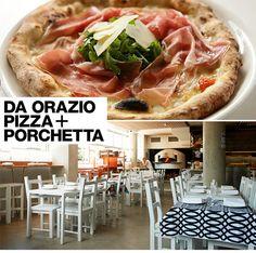 Hotspot com menu de inspiração Italiana, o Da Orazio Pizza + Porchetta tem atmosfera relax e pratos deliciosos, tip da Sister Mari Cassou. Vem saber!