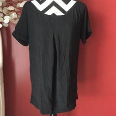 Black silk diane von furstenberg top In excellent condition no flaws price is firm Diane von Furstenberg Tops Blouses