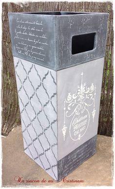 Corazón, cesto, cubiertos de madera y papelera reciclada... De todo un poco | Bricolaje