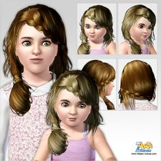 Emma's Simposium: Free Hair Pack #158 By PeggyZone - Donated/Gifted!...