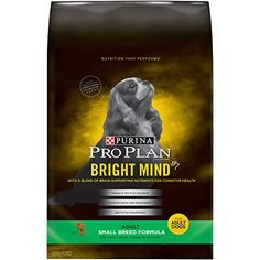 Purina Pro Plan Bright Mind Adult Small Breed Formula Dog Food Bag (1 Pack), Small/5 lb Purina Pro Plan http://www.amazon.com/dp/B017IFK3H4/ref=cm_sw_r_pi_dp_yusRwb03NK9J2