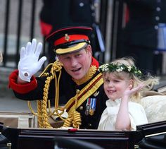 Prince Harry and Lady Louise