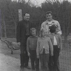 circa 1963  Pirate's Cove  George with daughters and Tom