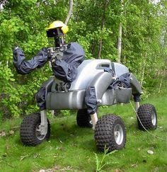 WorkParner service robot.