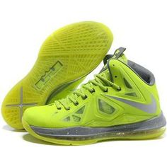 buy online 56be5 11f19 Cheap Nike Lebron 10 Shoes Fluorescent Green Grey, cheap Nike Lebron 10  Mens, If you want to look Cheap Nike Lebron 10 Shoes Fluorescent Green Grey,  ...