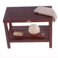 "FULLY ASSEMBLED- 24"" Teak Shower Bench With Shelf- Sitting, Storage, Display, Shaving Foot Rest Decoteak,http://www.amazon.com/dp/B00G60M8MQ/ref=cm_sw_r_pi_dp_WXHltb1XYPX0W6F9"