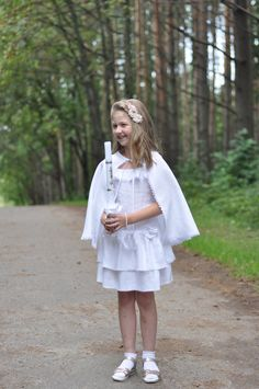 Excited to share the latest addition to my #etsy shop: christening dress, first communion dress, occasion white dress, baptism dress, waves dress, eco linen dress, girls linen dress, flax dresses https://etsy.me/2GFPKKL #clothing #children #dress #baptism #mothersday #