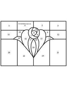 Heart & Rose pattern