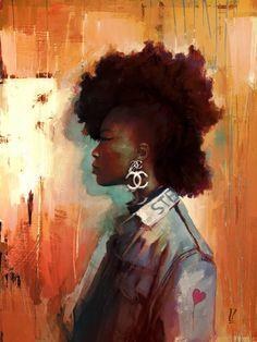 "Saatchi Art Artist Loic Zimmermann; New Media, ""Rollergirl"" #art"