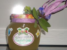 Verboten gut ⚠: Salbei ~ Gelee der Salbei wächst wie Unkraut und das ist die beste Art ihn zu verwerten...