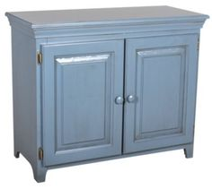 Homemakers Furniture: Solid Pine Console Cabinet: Archbold Furniture Company: Dining: Servers & Sideboards