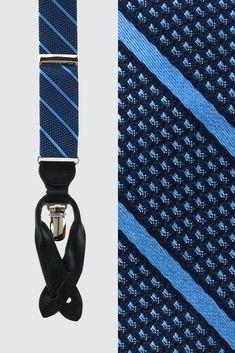 MEN 35mm Wide Black Elastic BRACES SUSPENDERS match Velvet Bow Tie Bowtie