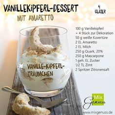 🤔👌 Are you still looking for a quick and super delicious dessert for the h . - 🤔👌 Are you still looking for a quick and delicious dessert for Christmas Eve? Mini Desserts, Winter Desserts, Christmas Desserts, Christmas Eve, Mary Berry, Vanilla Biscuits, Dessert Halloween, Cake Recipes, Dessert Recipes
