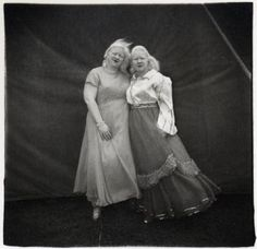 The Albino Sisters, by Diane Arbus