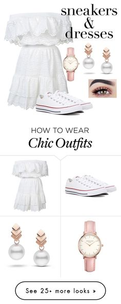 """""""Untitled #340"""" by curlycrazy13 on Polyvore featuring LoveShackFancy, Converse, Escalier and Topshop"""