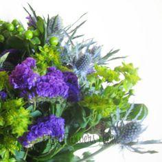 FiftyFlowers.com - Purple People Eater Fresh Flower Centerpiece