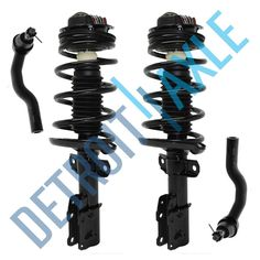 4 pc Set TWo Front Inner Tie Rod Set  for 1999 2000 2001 2002 Mirage WITH BOOTS