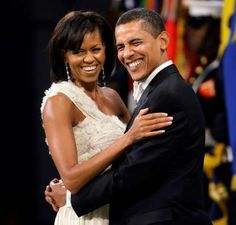 2009 file photo, President Barack Obama dances with first lady Michelle Obama at the Western Inaugural Ball in Washington. President Obama is restricting the inaugural balls t Michelle Obama, Barrack And Michelle, Black Presidents, American Presidents, American History, Black Celebrities, Celebs, Barack Obama Family, Obamas Family