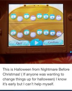This is halloween town tune animal crossing Animal Crossing 3ds, Animal Crossing Town Tune, Animal Crossing Wild World, Animal Crossing Qr Codes Clothes, Motif Acnl, Ac New Leaf, Pin On, Animal Games, Halloween Town