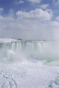 Image detail for -Niagara Falls in Winter Ontario, Canada