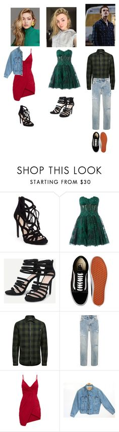 """""""OOTD Arlene Quinn, PamPam Isley and Jerome Valeska"""" by baby-lady-j on Polyvore featuring Jessica Simpson, Zuhair Murad, Vans, Jack & Jones, Givenchy and Levi's"""