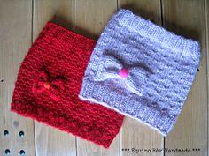 Équino Rêv' *** Handmade***: *** Duo de snoods et leurs tutos *** Loom Knitting Scarf, Bonnet Crochet, Crochet For Kids, Knitted Hats, Winter Hats, Beanie, Fabric, Handmade, Tutorials