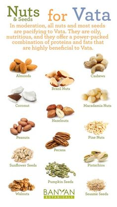 Nuts for Vata Dosha Ayurveda