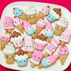 I scream, you scream... New mini Ice Cream cookie cutter set in our shop!