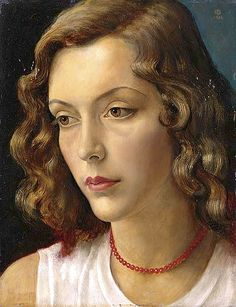 bblacha:      IMRE GOTH (Hungarian:British, 1893-1982) Portrait of the Artist's Muse by -BoFransson- #flickstackr  Flickr: http://flic.kr/p/bRgpjP